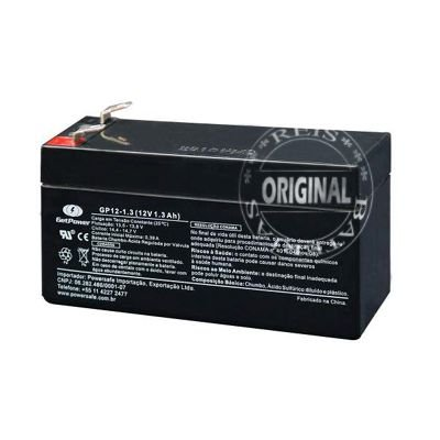 Bateria Estacionária VRLA ( AGM ) GetPower 12V – 1,3Ah – GP12-1.3