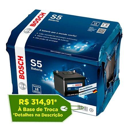 Bateria Bosch 60Ah – S5X60D / S5X60E – 18 Meses Garantia