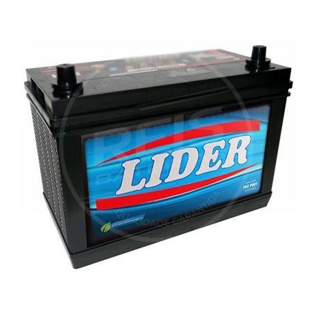 Bateria Lider 100Ah - LI100MF - Baixa Manutenção ( Requer Água )