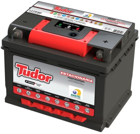 Bateria Estacionária Tudor 12v 65ah