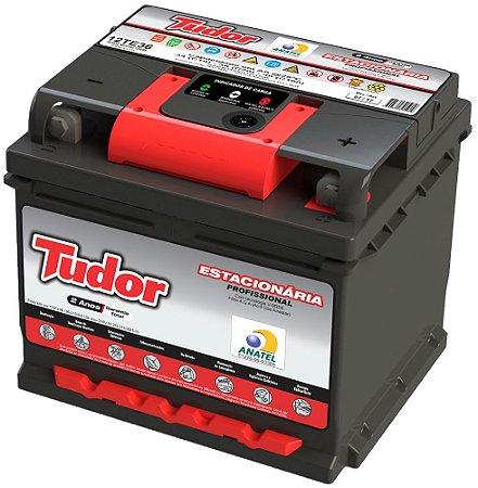 Bateria Estacionária Tudor 12TE36 - 40Ah - 24 Meses de Garantia