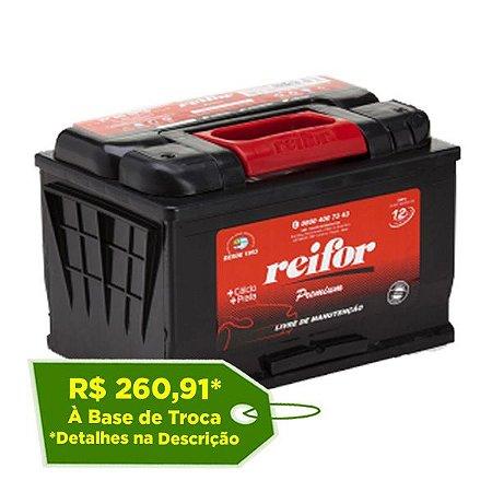 Bateria Reifor Premium 70Ah – RP70PSTD / RP70PSTE – Livre de Manutenção