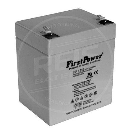 Bateria Estacionária VRLA ( AGM ) First Power 12V - 5Ah - FP1250