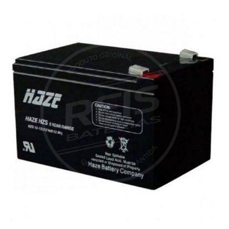 Bateria Estacionária VRLA ( AGM ) Haze Power 12V - 12Ah - HSC12-12