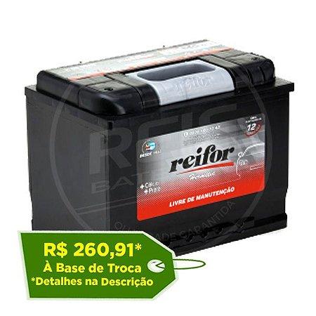 Bateria Reifor Hermetic 60Ah - H60OSAD ( Cx. Alta ) - Selada