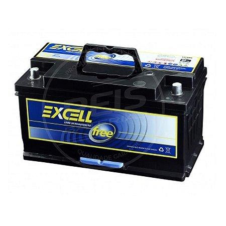 Bateria Excell Free 90Ah - EXF90MD - Livre de Manutenção