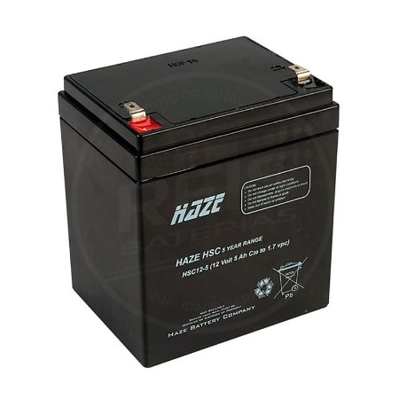 Bateria Estacionária VRLA ( AGM ) Haze Power 12V - 5Ah - HSC12-5