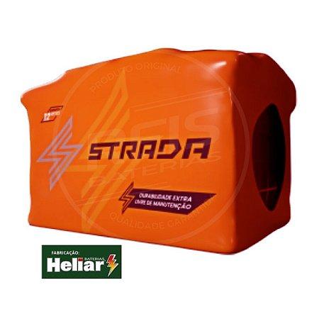 Bateria Strada 70Ah - ST70ND - Fabricação Heliar - Selada