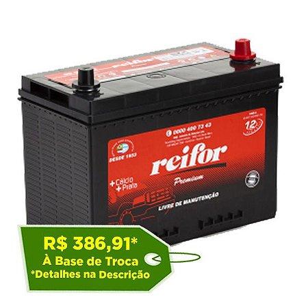 Bateria Reifor Premium 90Ah – RP90FCD / RP90FCE – Livre de Manutenção