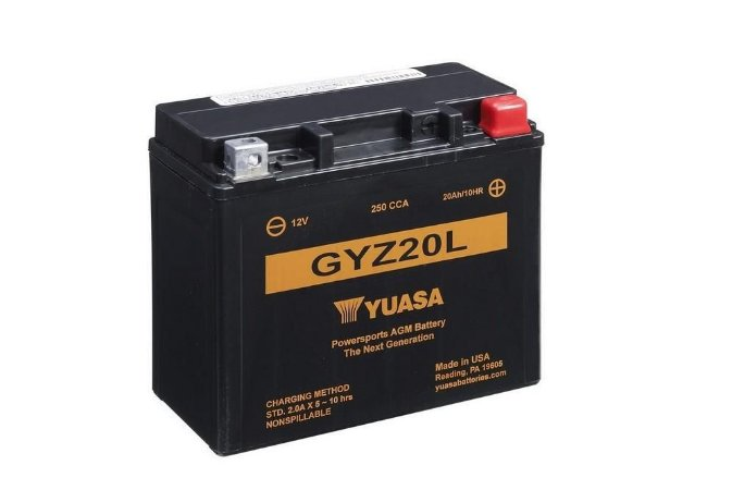 Bateria de Moto Yuasa 20Ah - Gyz20L