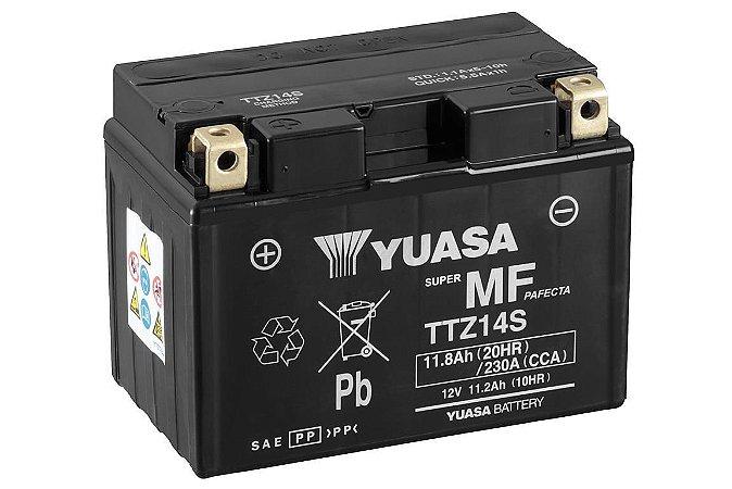 Bateria de Moto Yuasa 11,2Ah - Ttz14S