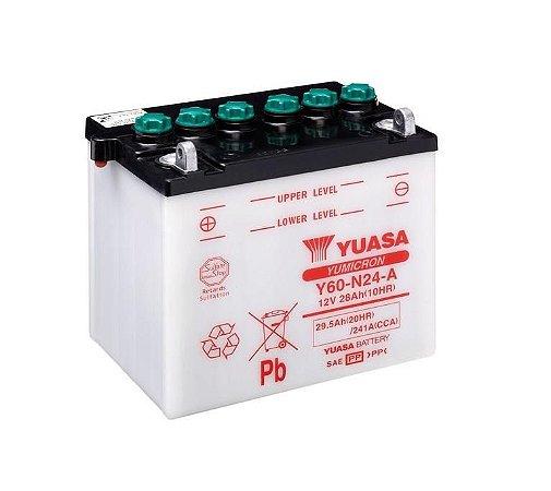 Bateria de Moto Yuasa 28Ah - Y60-N24L-A