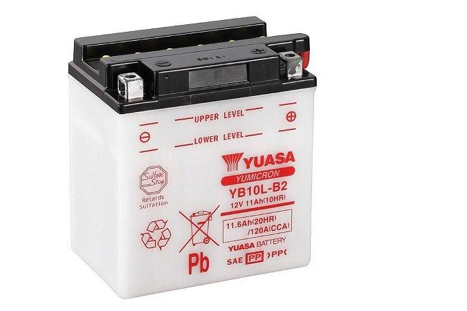 Bateria de Moto Yuasa 11Ah - Yb10L-B2