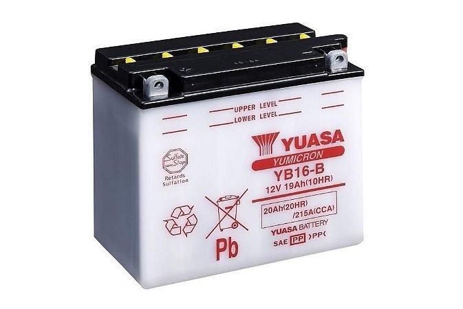 Bateria de Moto Yuasa 19Ah - Yb16-B