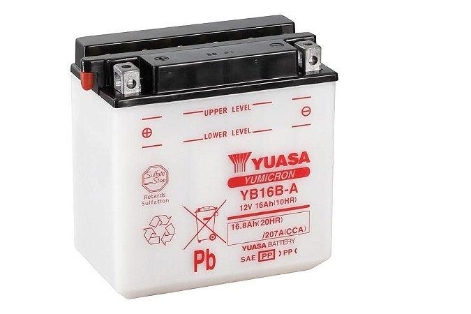 Bateria de Moto Yuasa 16Ah - Yb16B-A
