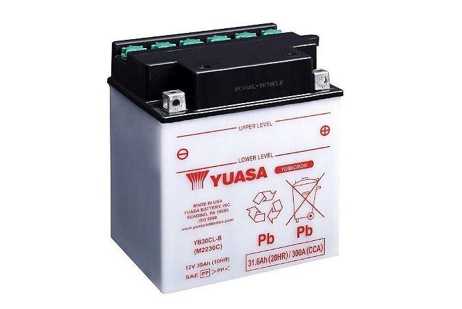 Bateria de Moto Yuasa 30Ah - Yb30Cl-B