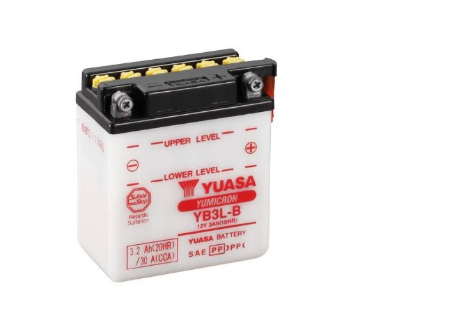 Bateria de Moto Yuasa 3Ah - Yb3L-B