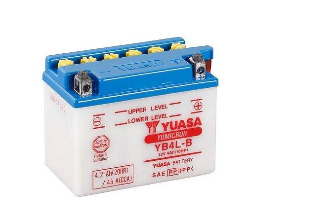 Bateria de Moto Yuasa 4Ah - Yb4L-B