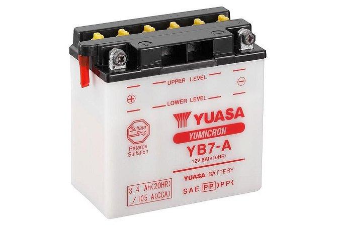 Bateria de Moto Yuasa 8Ah - Yb7-A