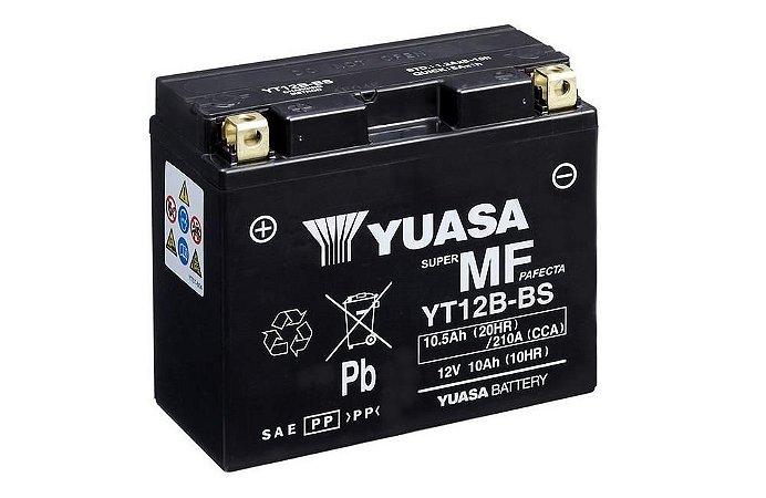 Bateria de Moto Yuasa 10Ah - Yt12B-Bs