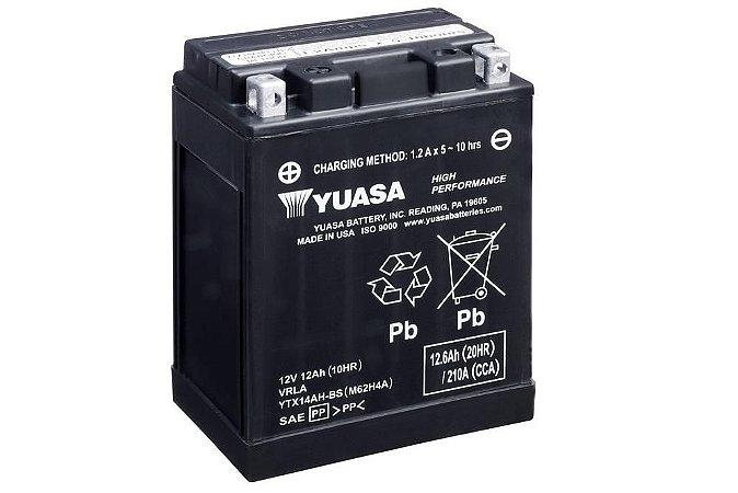 Bateria de Moto Yuasa 12Ah - Ytx14Ah-Bs