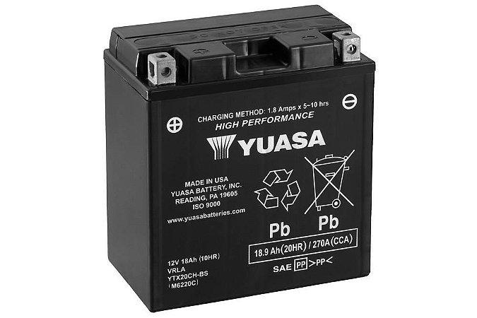 Bateria de Moto Yuasa 18Ah - Ytx20Ch-Bs
