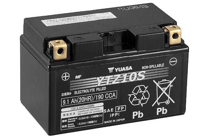 Bateria de Moto Yuasa 9,1Ah - Ytz10-S
