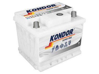 Bateria de Carro Kondor Super Free 52Ah ( Cx Alta ) - SF20PD