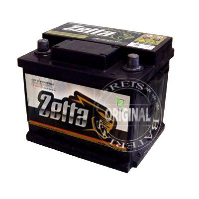 Bateria Zetta 40Ah - Z40D - Fabricação Moura - Selada