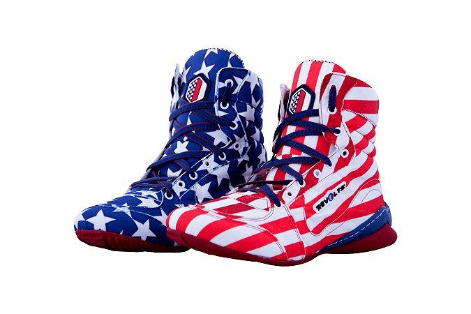 Bota Fitness Revolts - Bandeira USA