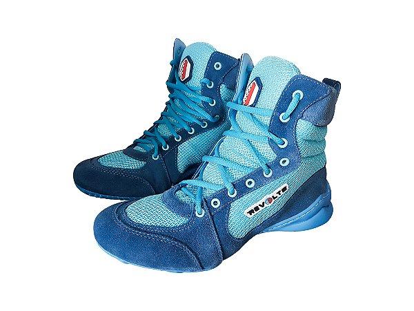 Bota Fitness Revolts - Azul Bebê BA1080