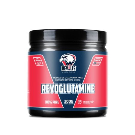 RevoGlutamine 100% Pure 300g -  Revolts Nutrition