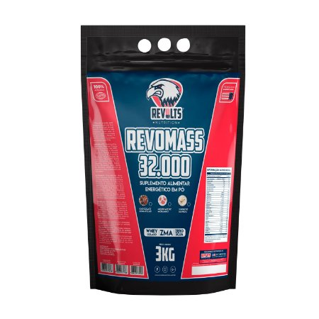 RevoMass 32,000 3kg - Revolts Nutrition