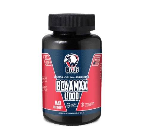 BcaaMax 1.000 120 Tabs - Revolts Nutrition