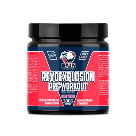 RevoExplosion Pre-Workout 300g - REVOLTS NUTRITION