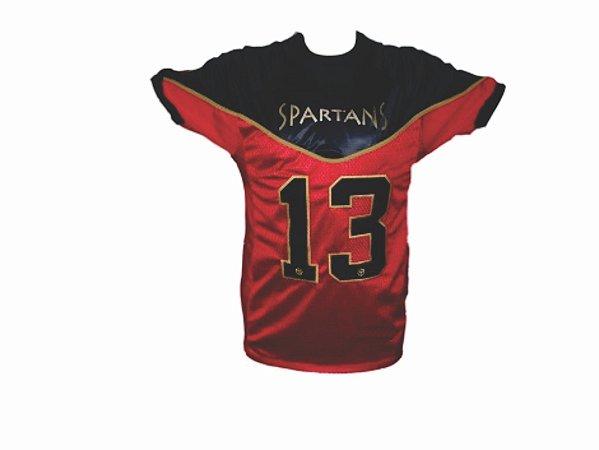 Camiseta Uniforme FLAG ATLETA - vermelha