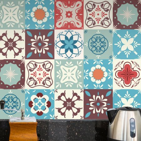 Adesivo Azulejo Vintage