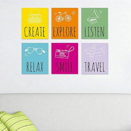 Quadros Decorativos Colors