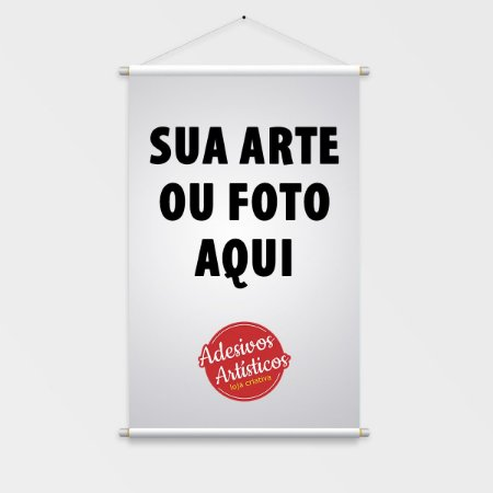 Banner em Lona Brilho 50x70