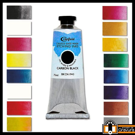 Tinta Caligo para Metal 75ml
