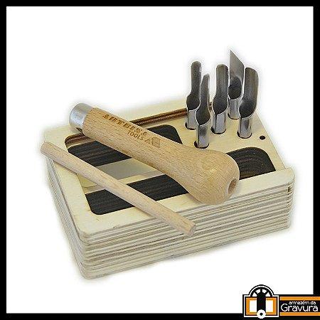 Kit 5 pontas para Xilo Arteína (caixa de madeira)