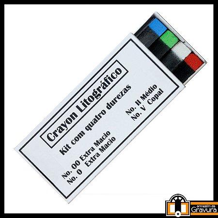 Kit de Crayon Litográfico (caixa com 8 unidades)