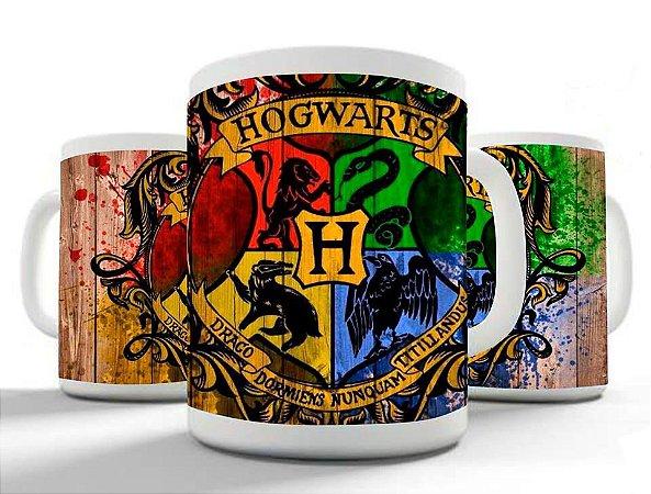 Caneca Hogwarts - Brasão