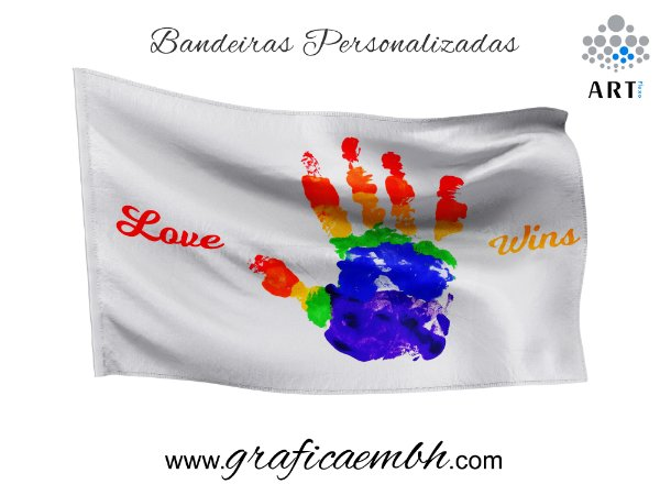 Bandeira - Amor Vence / Love Wins
