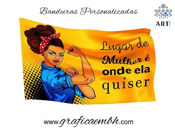 Bandeira Lugar de Mulher
