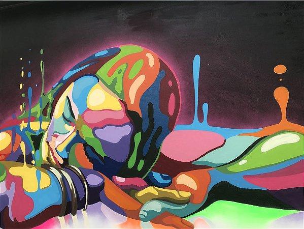 Fototela Lona Canvas 0,9 x 0,675 cm