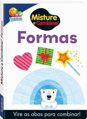 Livro - Misture e Combine -Formas Geometricas