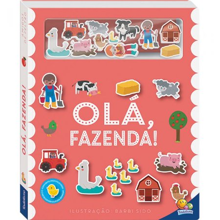 Livro - Amigos De Feltro: Olá, Fazenda!