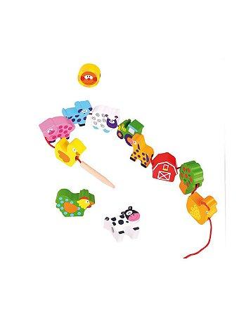 Alinhavo - Fazenda - Tooky Toy