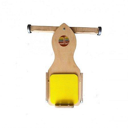 Carrinho de Rolimã de madeira - Woodkart